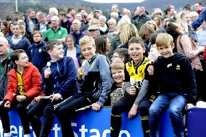 Spectators at last year's Melrose Sevens.