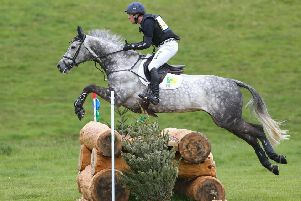 Oliver Townend and Dreamliner in the Cross Country at Floors Horse Trials (picture by Jim Crichton).