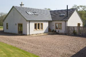 The Glenacre bed-and-breakfast near Jedburgh.