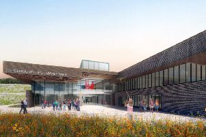 What the new campus will look like.