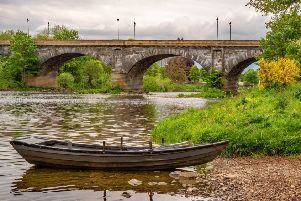 The River Tweed at Kelso.