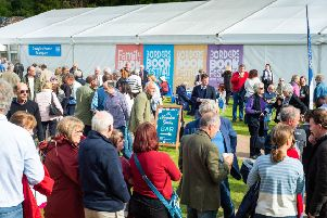 Friday at the Baillie Gifford Borders Book Festival. 'Credit: Alex Hewitt/Writer Pictures
