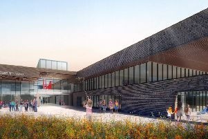 how the new campus will look.