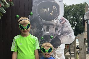 Kids will have the chance to take on Live Borders' Summer Reading Challenge, which celebrates the 50th anniversary of man landing on the moon.