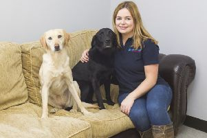 Leonie Jamieson has launched Galashiels Doggy Day Care in Langshaw Road.