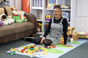 Aysha Nyass thoroughly enjoys her job in Early Learning and Childcare, and particularly enjoys watching the children grow and develop.