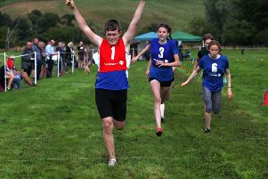 Final of the 200m Handicap Youth Group A Back Markers Open was won by Tommy Beck.