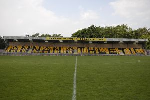 Annan Athletic's ground at  Galabank (archive picture by Phil Wilkinson).