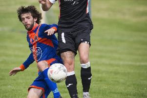 Danny Bolton brought Hawick level against Preston Athletic but the hope soon faded (library image).