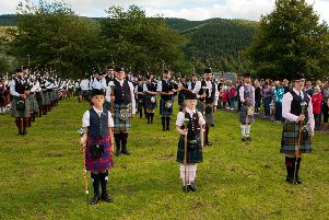 Last year's massed bands.