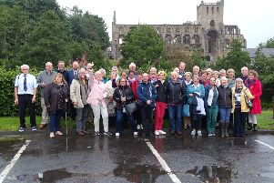 A 20-strong group of French visitors from Malestroit spent five days with hosts families in Jedburgh as part of the historic twinning between the two towns.