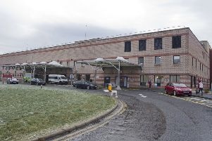 The Borders General Hospital at Melrose.