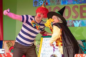 The You Choose children's show in action.