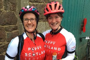 Kirsteen McGrory (left) and Mhairi Middleton (right).