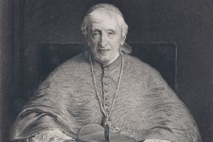 John Henry Newman was instumental in the building of various Roman Catholic churches in the Borders and stayed at Abbotsford.