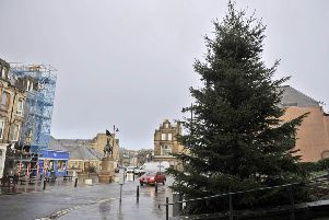 Hawick's 30ft Christmas tree could be a third shorter this year.