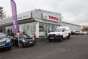 Border Toyota at St Boswells.