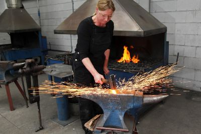 A day in the life of   a blacksmithing lecturer: