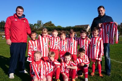 Kit boost for Formartine United youngsters - Ellon Times