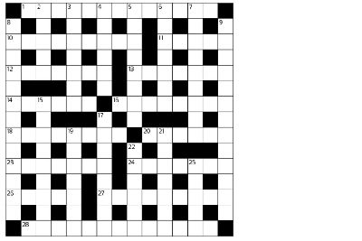picture regarding Printable Cryptic Crosswords named Cryptic crossword - The Scotsman, 19/06/15 - The Scotsman
