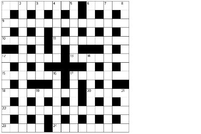 photo regarding Cryptic Crosswords Printable titled Cryptic crossword - The Scotsman 23/09/15 - The Scotsman