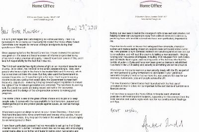 Amber Rudd\'s resignation letter in full - The Scotsman