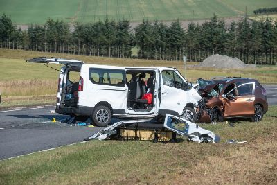 A96 crash: Four-year-old boy who died in Moray named by