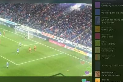 Rangers fans beat TV blackout as 65,000 watch Periscope live