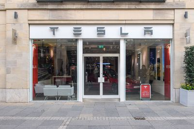 Tesla To Switch To Online Only Sales But Edinburgh Showroom