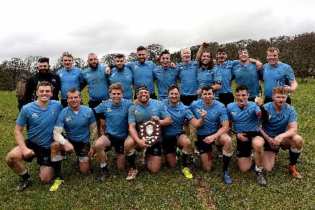 The Border Shield champions! (Pics: Alwyn Johnston)