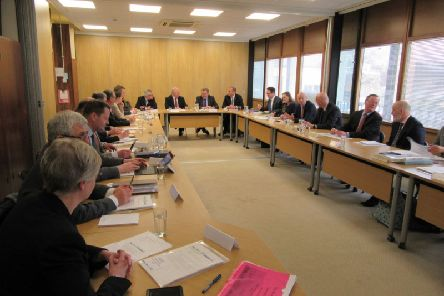 UK Government Ministers David Mundell and Jake Berry met with representatives of five cross border local authorities in Carlisle in early 2018.