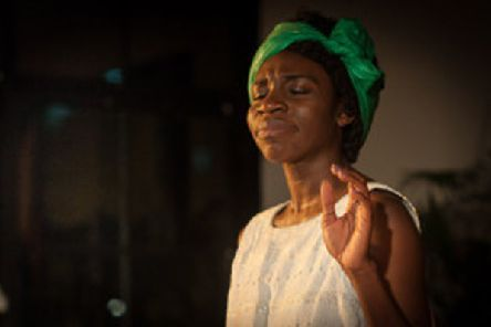 Play the Spotlight Theatre'Black is The Color Of My Voice'A play inspired by the life of Nina Simone''St Cuthbert's Church Norham'Saturday 6th April 7pm