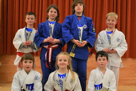 East March Judo juniors. The club is based in Foulden.