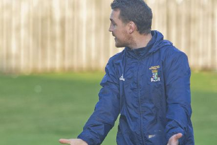 Coldstream manager Jonny Fairnbairn