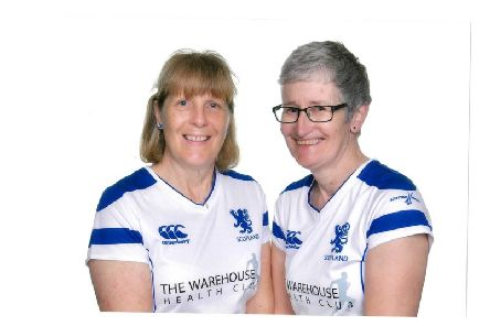 Moira Anderson, on the left, is from Duns