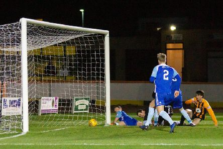 March 19 was the last time Berwick scored a goal (Pic: Alan Bell)