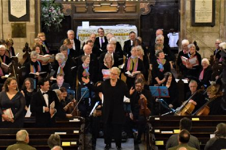 On Saturday, May 18, Berwick Arts Choir will be performing its summer concert in the atmospheric and historic surroundings of Berwick Parish Church.'The concert is unusual in that it features two beautiful requiems - a better-known one by Maurice Durufl� and a more modern work, Requiem Canticorum, by James Whitbourn.