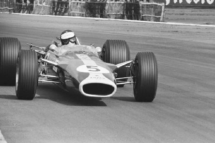 Jim Clark's last race in Great Britain