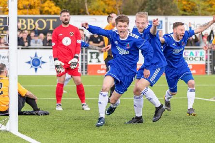 Cove thrashed Berwick 7-0 over two legs (Pic by Dave Cowe)