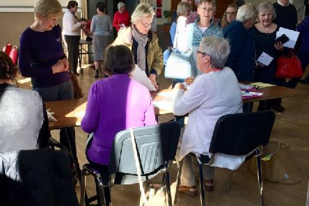 Over 60 people signed up to join Duns U3A at its launch event.
