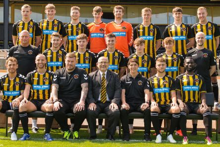 The Berwick Rangers squad 2019-20