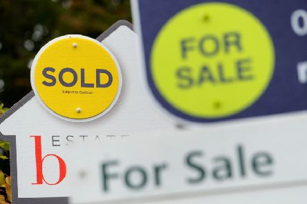 Increase in house prices