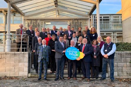 Scottish Borders Council achieves Living Wage accreditation