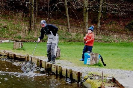 Youngsters make the most of holidays at Delgatie Castle