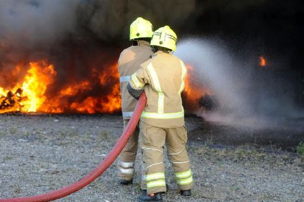 Firefighters have faced verbal and physical attacks while trying to get on with their job of tackling fires and saving lives.