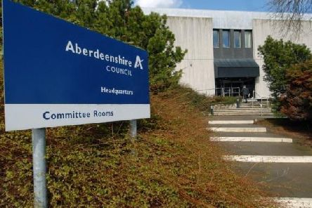 Scammers have been targeting schools in Aberdeenshire recently