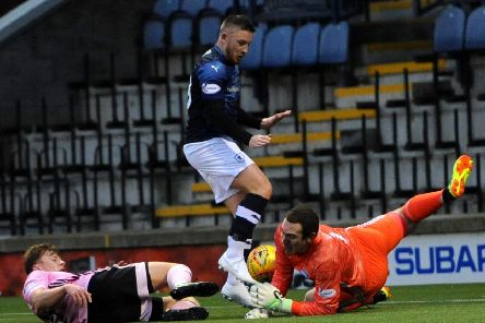 Keeper Greg Fleming was Peterhead's Man of the Match at Raith (pic: Fife Photo Agency)
