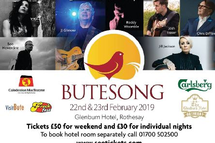 Butesong 2019 poster.
