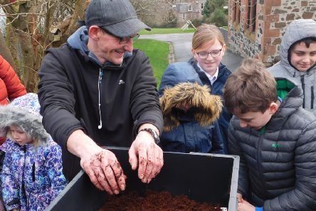 In late January, pupils from North Bute Primary, St Andrews Primary and Rothesay Primary were introduced to their very own wormery.