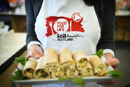 Argyll and Bute Council serves 4,300 Food for Life accredited meals a day across their 80 certified primary schools. Picture � Any Buchanan 2019